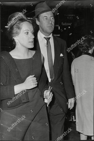 Tammy Grimes 25-year-old Comedienne And Actor Rex Harrison At The New Theatre. Tammy Is Tipped To Become The Fourth Mrs Harrison.