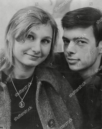 Actress Angela Pleasence Daughter Of Actor Donald Pleasence And Her Fiance Actor Michael Cadman.