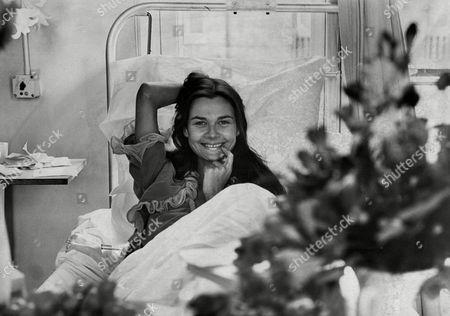 Actress Imogen Hassall In St Stephen's Hospital Fulham 1970.