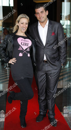 Editorial photo of James Argent at the Alea Casino, Glasgow, Scotland, Britain - 07 Jul 2011