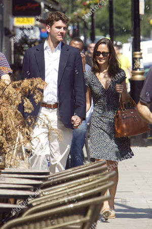 Stock Picture of Alex Louden and Pippa Middleton