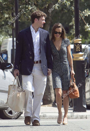 Alex Louden and Pippa Middleton