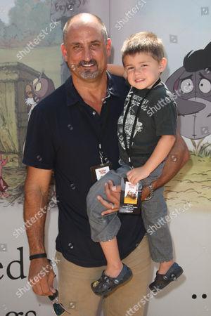 Michael Papajohn and son Sean