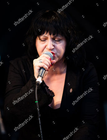 Stock Image of Lydia Lunch performs with Aggressive Swagger