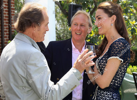Editorial photo of Prince William and Catherine Duchess of Cambridge attend a reception to mark the Launch of Tusk Trust's US Patron's Circle, Royal Tour, Santa Barbara, California, America - 10 Jul 2011