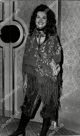 Actress Imogen Hassall At Premiere Of Film Performance 1971.