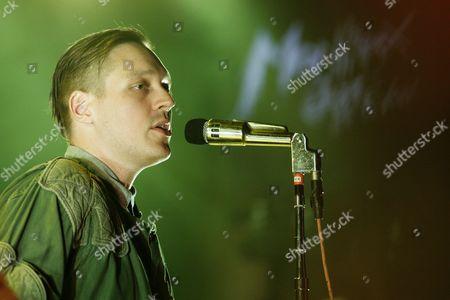 Stock Image of Arcade Fire - Winn Butler