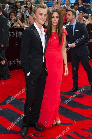 Tom Felton and JADE OLIVIA