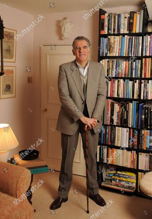 Editorial picture of Author Michael Arditti at home, London, Britain - 27 Jan 2011
