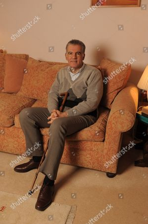 Editorial photo of Author Michael Arditti at home, London, Britain - 27 Jan 2011