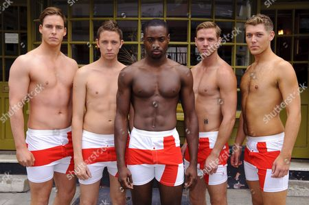 Editorial image of Mr England finalists, London, Britain - 12 Jul 2011