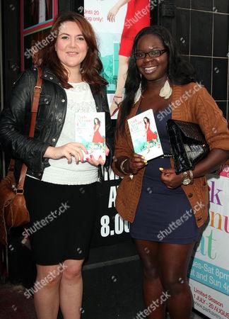 Katy Wix and Bunmi Mojekwu