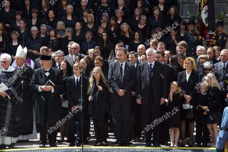 Family Habsburg, Archduke Karl von Habsburg, President Horst Seehofer