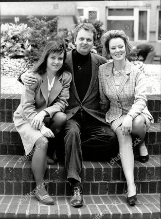 Richard Attenborough's Actress Daughter Charlotte Attenborough Left. - 1989 With Tom Cotcher And Susan Kyd