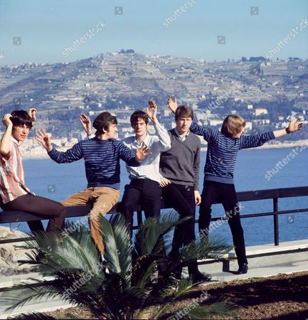 The Yardbirds - Jeff Beck, Jim McCarty, Paul Samwell-Smith, Chris Dreja and Keith Relf