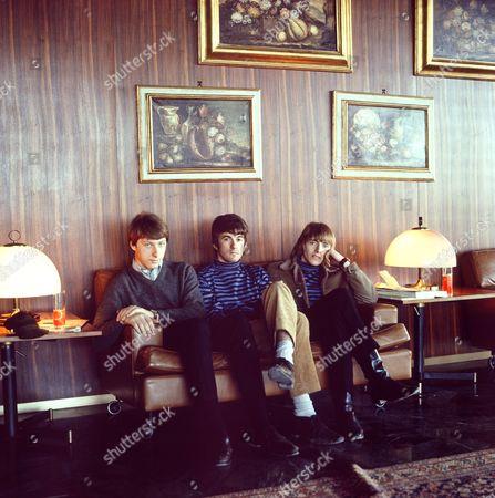 The Yardbirds - Chris Dreja, Jim McCarty and Keith Relf