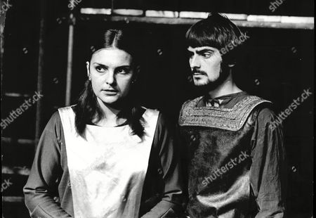Actress Marjorie Bland As Lady Macbeth And Gareth Armstrong As Macbeth In National Youth Theatre Production Of Macbeth At The Round House