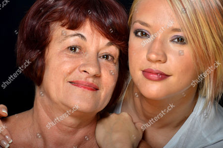 Aura Pohoata and mother