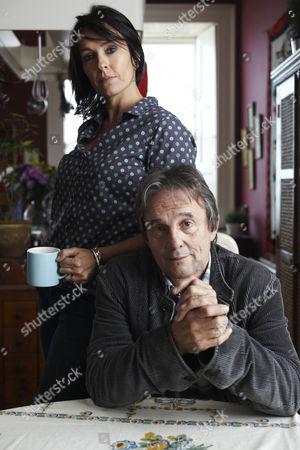 Juliet Aubrey as Felicity Calvert and Murray Head as Peter Calvert.