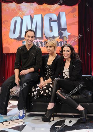 Stock Picture of Aled Haydn Jones, Peaches Geldof and Emma Kenny