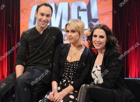 Aled Haydn Jones, Peaches Geldof and Emma Kenny