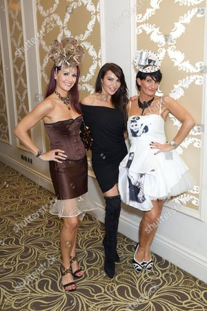 Chelsey Baker, Lizzie Cundy and Ilda Di Vico
