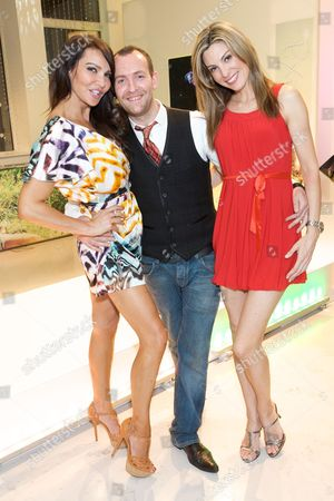 Lizzie Cundy, Charley McEwan and Catherine McQueen