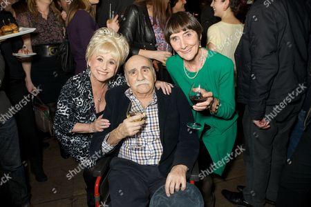 Barbara Windsor, Warren Mitchell, June Brown