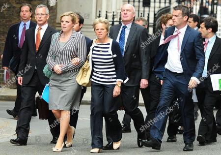 Brian Paddick, Gemma, Sally and Bob Dowler and solicitor Mark Lewis