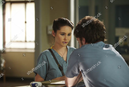 Christina Chong as Witney and Andrew Gower as Mullery.