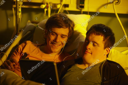 Stock Image of Tommy Jessop as James and Harry Ferrier as Alex.