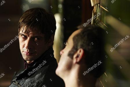 Adrian Bower as Mr Chadwick and James Nesbitt as Gabriel Monroe