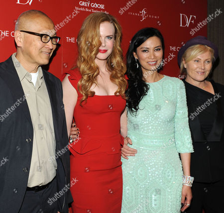 Wayne Wang, Nicole Kidman, Wendi Deng Murdoch and Deborra-Lee Furness
