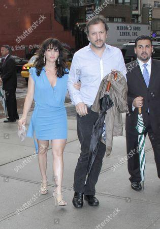 Carla Gugino and Sebastian Gutierrez