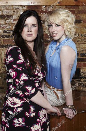 Caroline Redman Lusher and Rachel O'Brien.