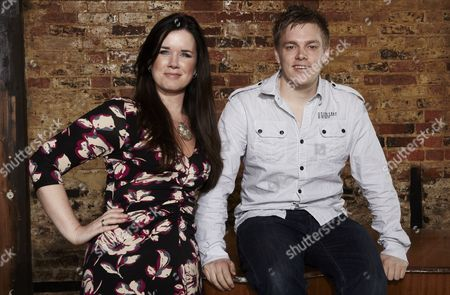 Caroline Redman Lusher and Glen Harvey