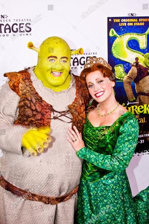 Eric Petersen as Shrek and Haven Burton as Princess Fiona