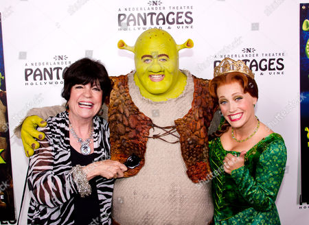 Editorial photo of Opening Night of 'Shrek The Musical' at the Pantages Theatre, Los Angeles, America - 13 Jul 2011