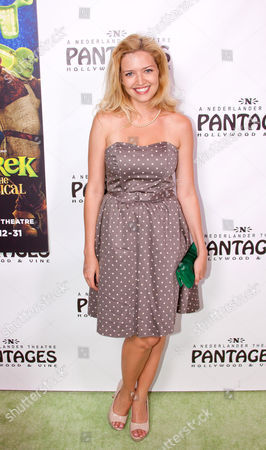 Editorial image of Opening Night of 'Shrek The Musical' at the Pantages Theatre, Los Angeles, America - 13 Jul 2011