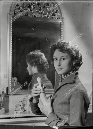 Actress Clare Austin At Her Home At Chiswick Mall