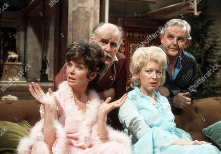 Dawn Addams as Rosie Butterfield, Richard Vernon as Sir Lionel Hibury, June Whitfield as Lady Maud Hibury and David Tomlinson as Sir John Holt