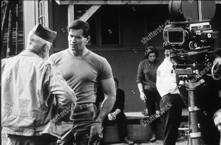 """Stock Picture of CLINT WALKER AND LEE MARVIN IN """"THE DIRTY DOZEN"""""""