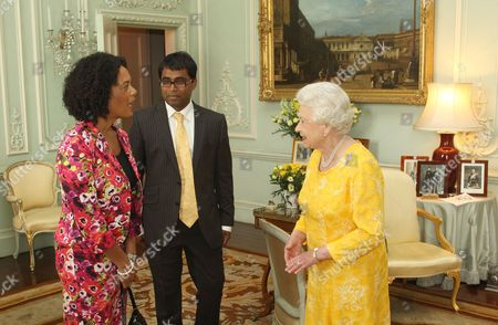 Editorial picture of Queen Elizabeth II receives dignitaries at Buckingham Palace, London, Britain - 14 Jul 2011