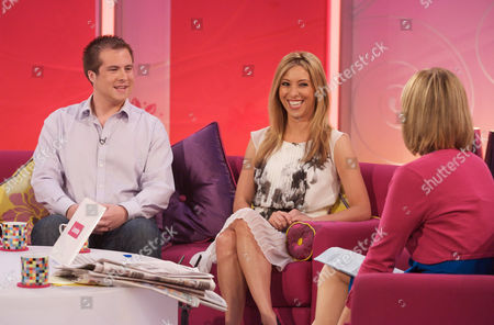 Stuart Baggs and Kate Walsh with Kate Garraway