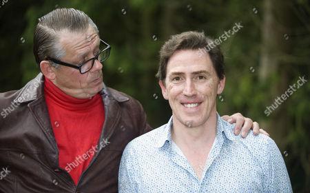 Graham Fellows as John Shuttleworth and Rob Brydon