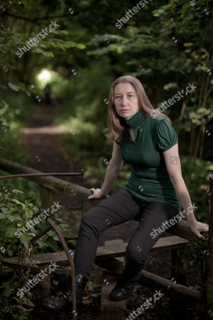 Editorial picture of Steph Swainston, near her home in Wokingham, Berkshire, Britain - 24 Jun 2011