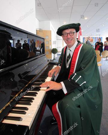 Stock Image of Musician and radio presenter, Mal Pope