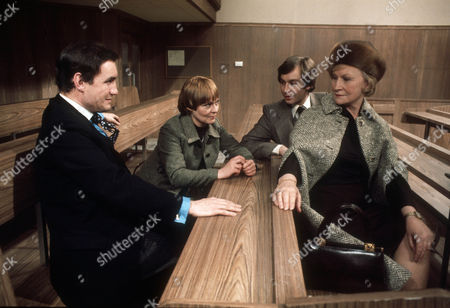 Anthony Ainley as Leslie Symington, Zena Walker as Jenny Rastall, Roger Davidson as Julian Underwood and Joan Sanderson as Katherine Underwood