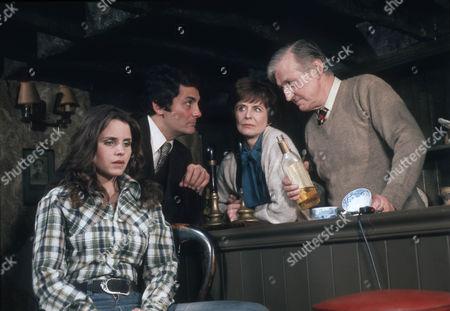 Nina Francis as Annette, David Hedison as Edmund Hardy, Isabel Dean as Mrs Farren and Mark Dignam as Farren
