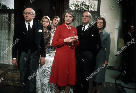 Stock Image of Ursula Howells as Julia, Celia Johnson as Mary-Anne, Derek Francis as Edward and Iris Russell as Edward's wife
